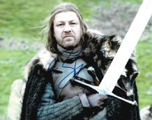 Sean Bean Autograph Signed Photo - Ned Stark